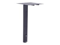 Multibrackets M Public Display Stand Camera Holder HD - Hylly tuotteelle videokonferenssikamera - teräs - musta - floor stand mountable 7350022739758