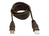 Belkin 10ft USB A/A 2.0 Extension Cable, M/F, 480Mp - USB-jatkojohto - USB (uros) to USB (naaras) - USB 2.0 - 3 m - molded - B2B F3U134B10