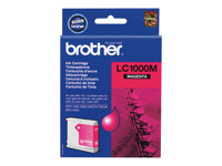 Brother LC1000M - Magenta - alkuperäinen - mustepatruuna malleihin Brother DCP-350, 353, 357, 560, 750, 770, MFC-3360, 465, 5460, 5860, 660, 680, 845, 885 LC1000M